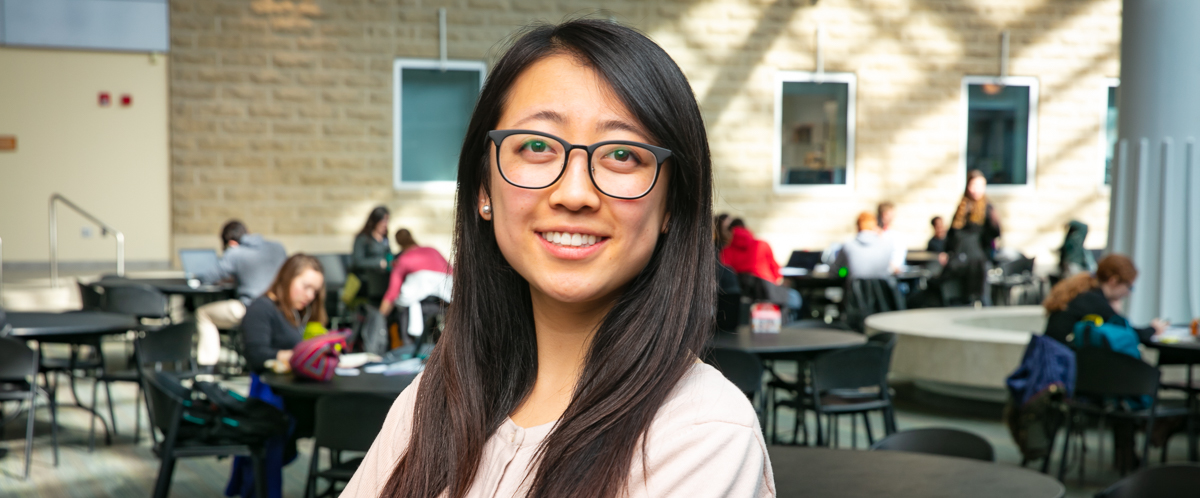 Portrait of graduate student Grace Teng