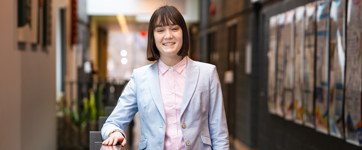 Portrait of graduate student Katie Francis