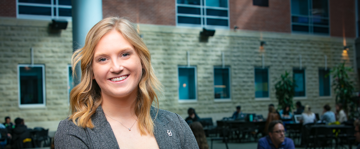 Portrait of graduate student Keely Kavcic