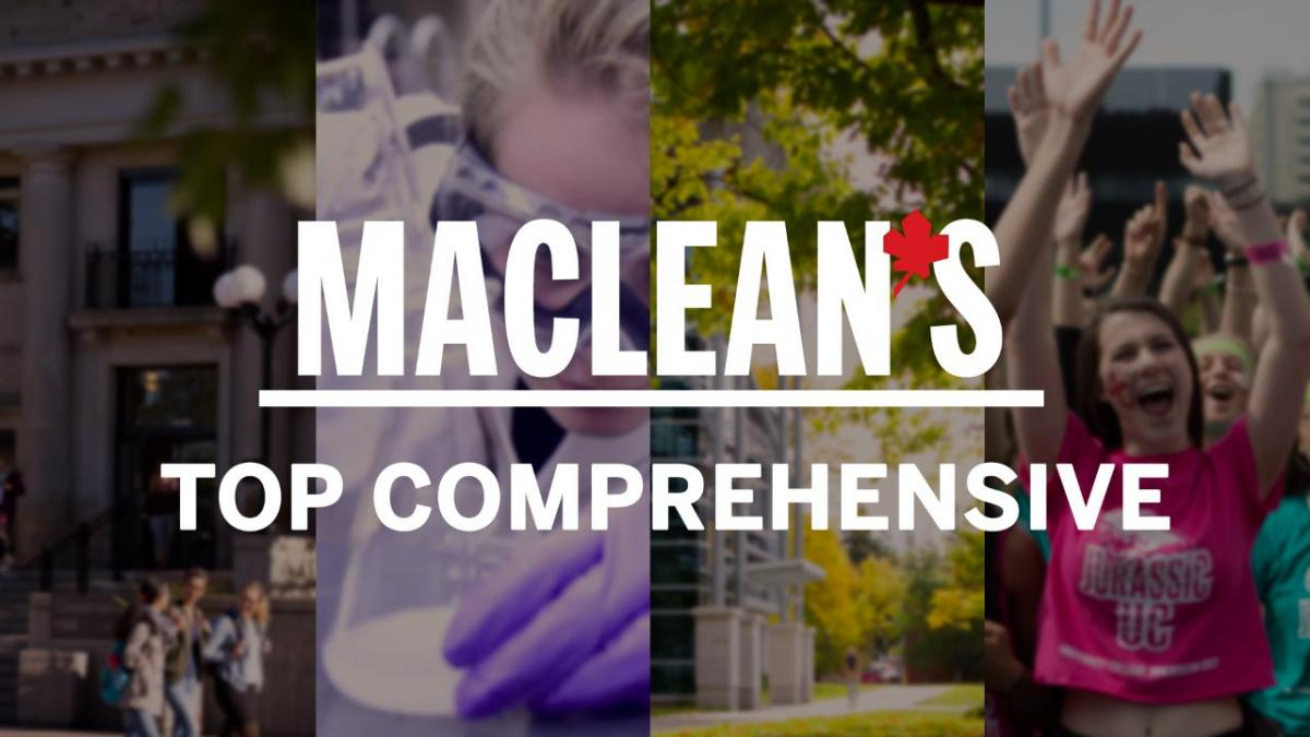 Maclean's Top Comprehensive logo