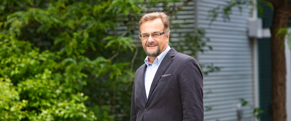 Portrait of Dr. Marcel Schlaf