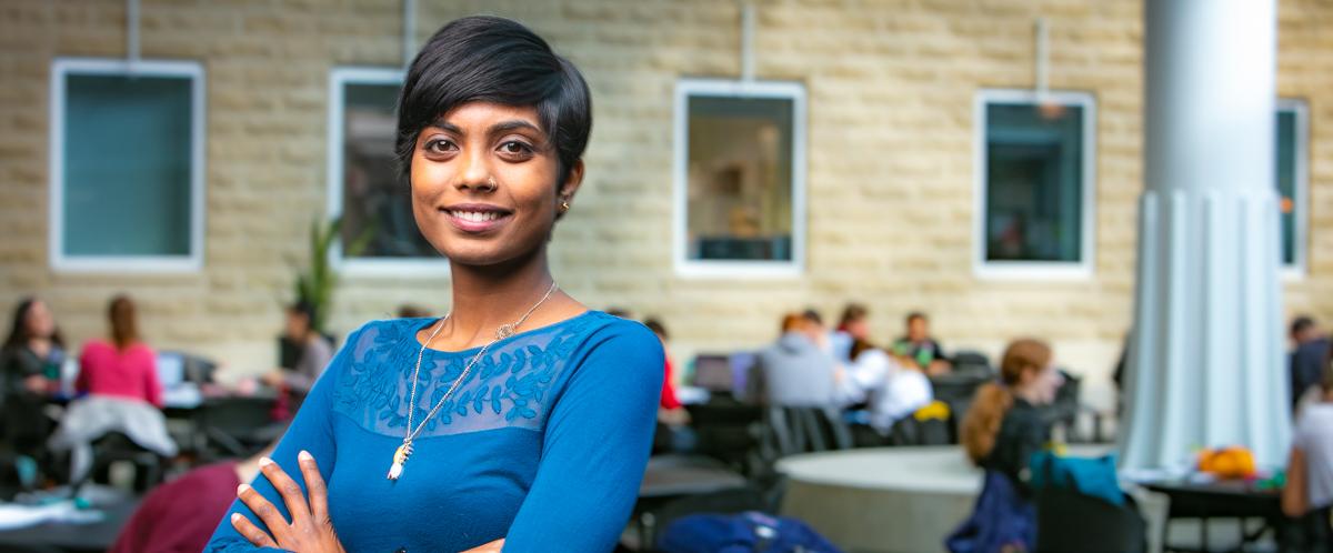 Portrait of graduate student Meera Navaratnam