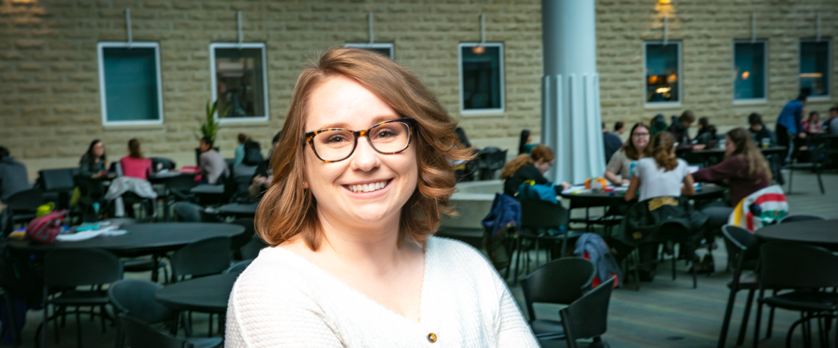 Portrait of graduate student Megan Brasher