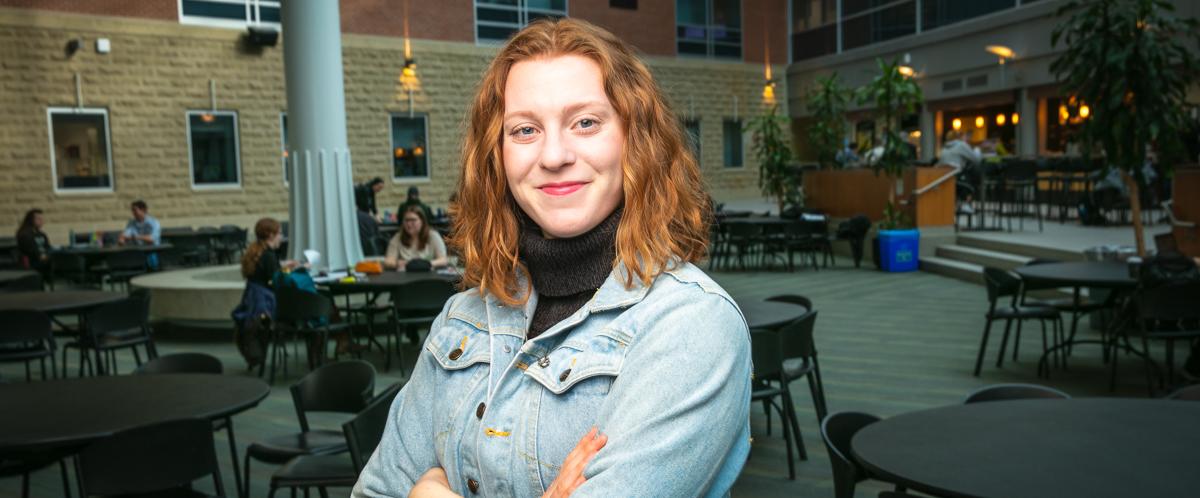 Portrait of graduate student Sarah Martone