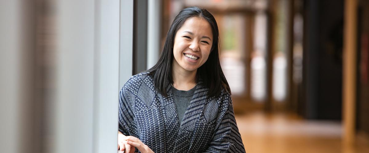 Portrait of graduate student Stephanie Lam