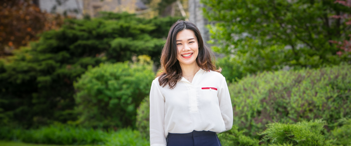 Tourism and Hospitality MSc at the University of Guelph graduate student Xiaoyan Yang