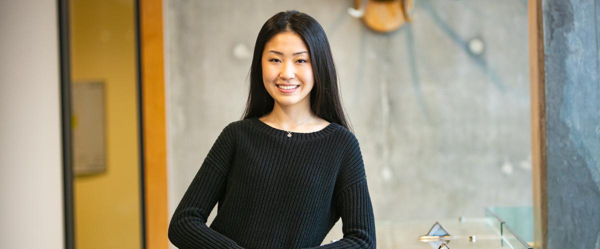 Portrait of graduate student Yi Fan Liu