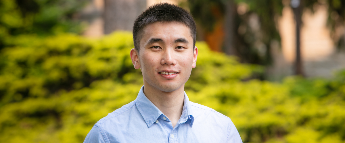 MSc Tourism and Hospitality at the University of Guelph graduate student Zhehao Zhao