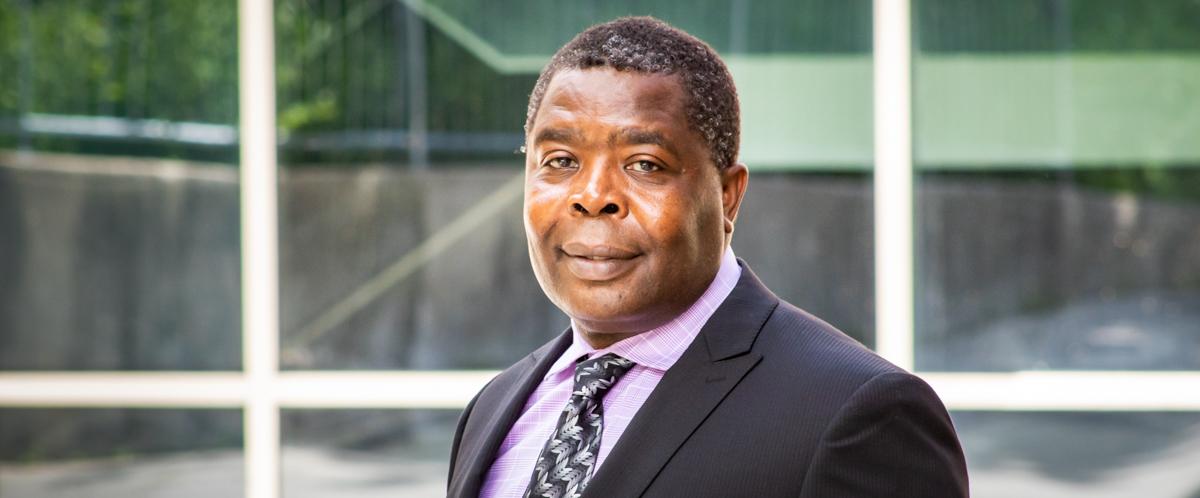 Portrait of Dr. Charlie Obimbo