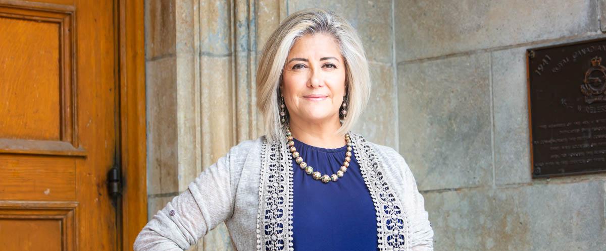 Portrait of Dr. Rosario Gómez