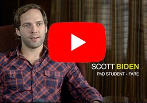 Screenshot of interview with Scott Biden - link to Youtube