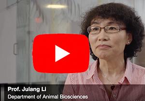 Youtube logo over a screenshot of Professor Li being interviewed