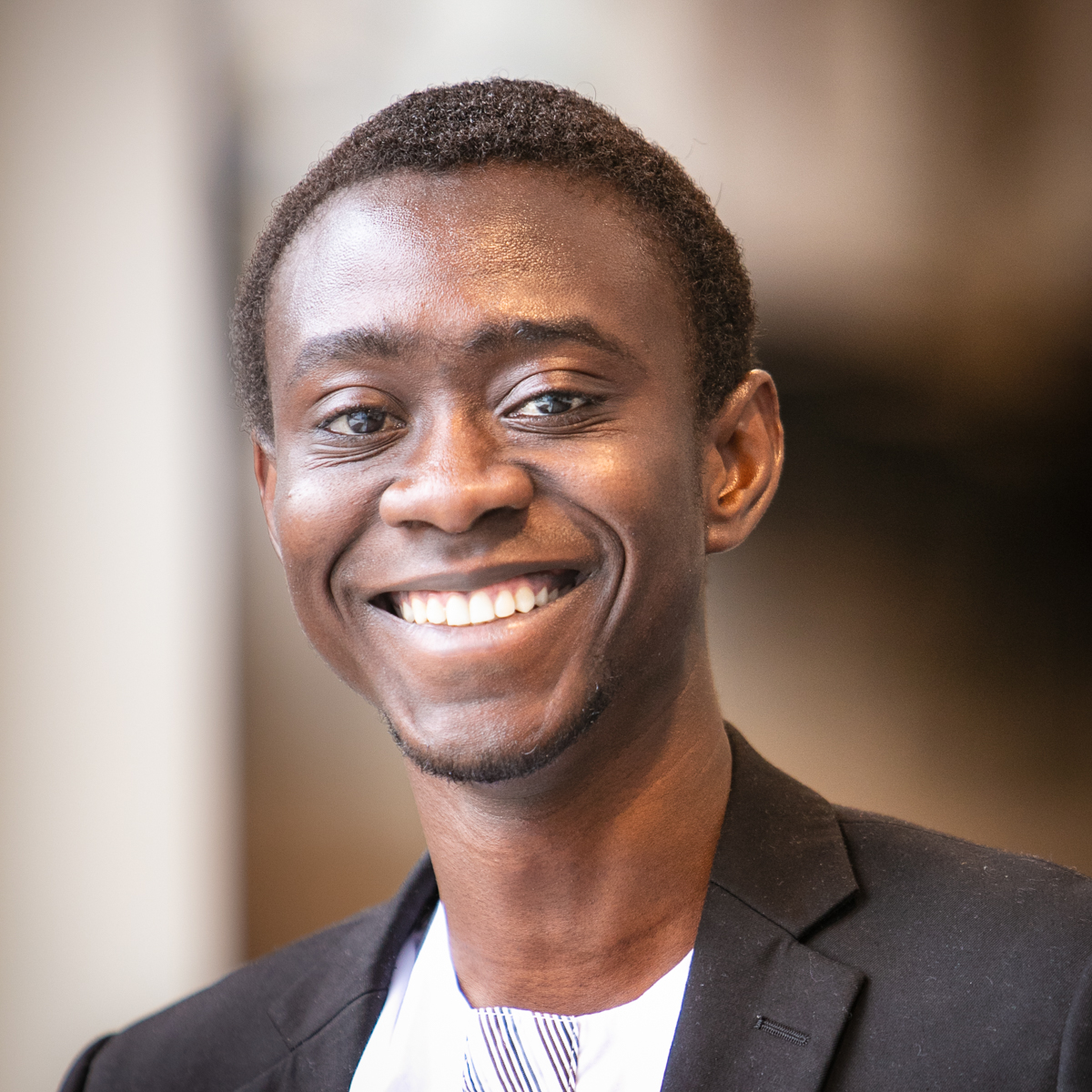 Portrait of graduate student Abdul-Rahim Abdulai