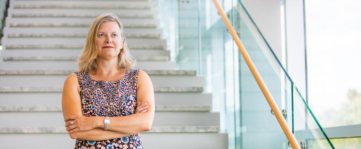 University of Guelph History Professor Catherine Carstairs