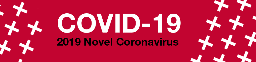 COVID 19 Red Banner