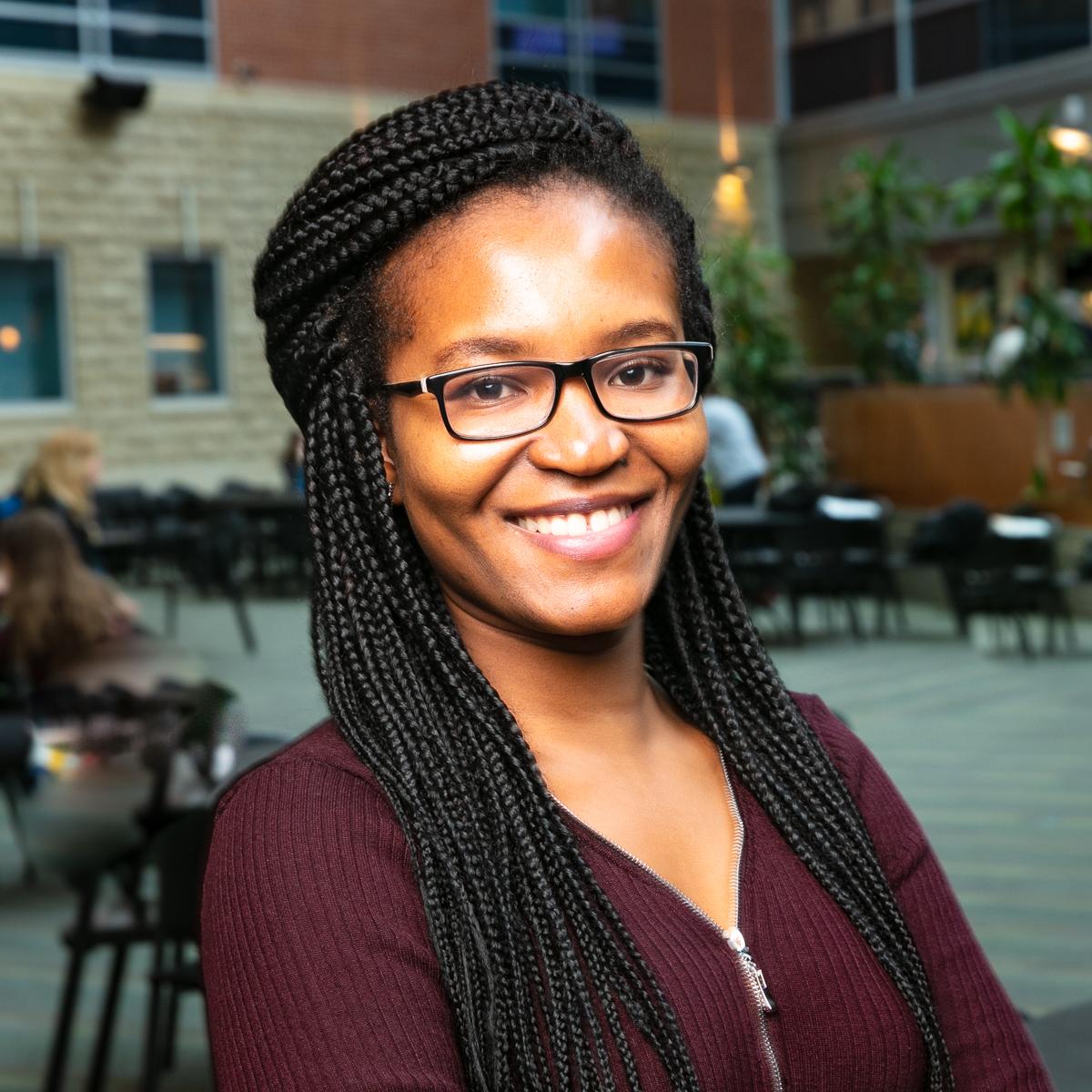 Portrait of graduate student Agyei Asiamah