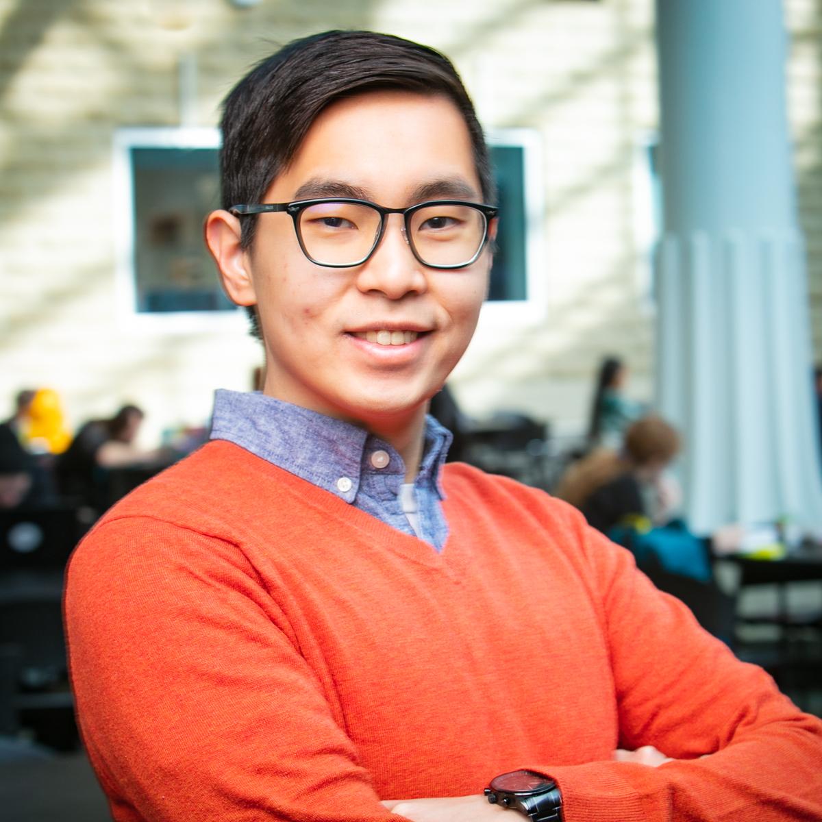Portrait of graduate student Joshua Salamun