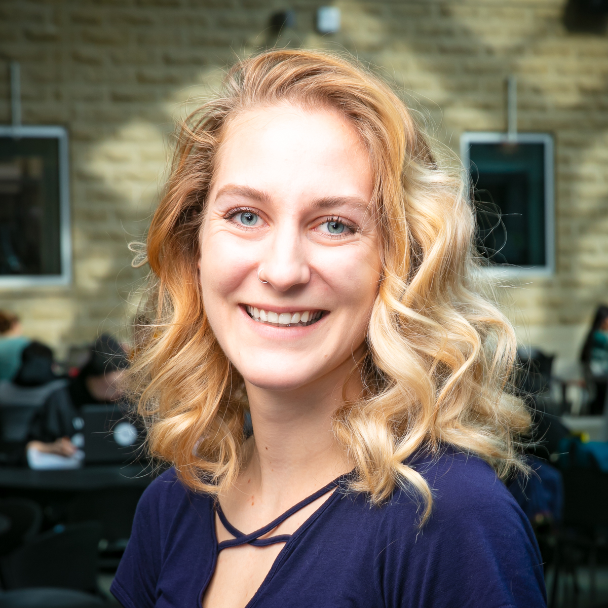 Portrait of graduate student Olivia Grafinger