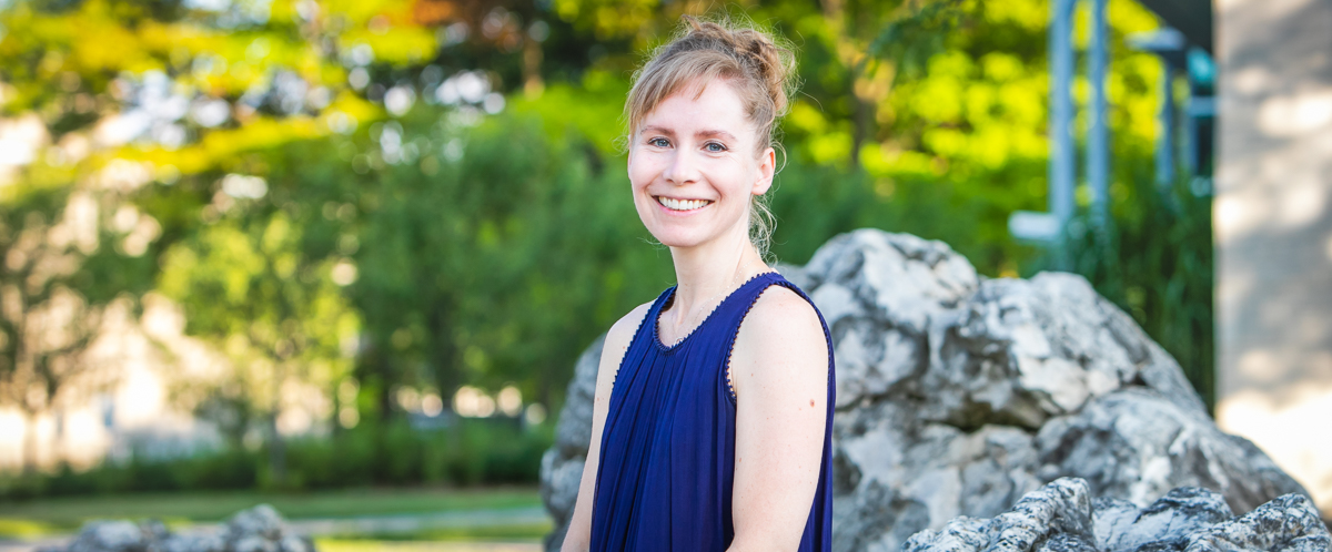Portrait of Dr. Sarah Wootton, Pathobiology at the University of Guelph