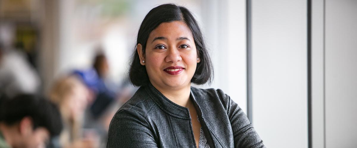 Portrait of graduate student Niva Shrestha
