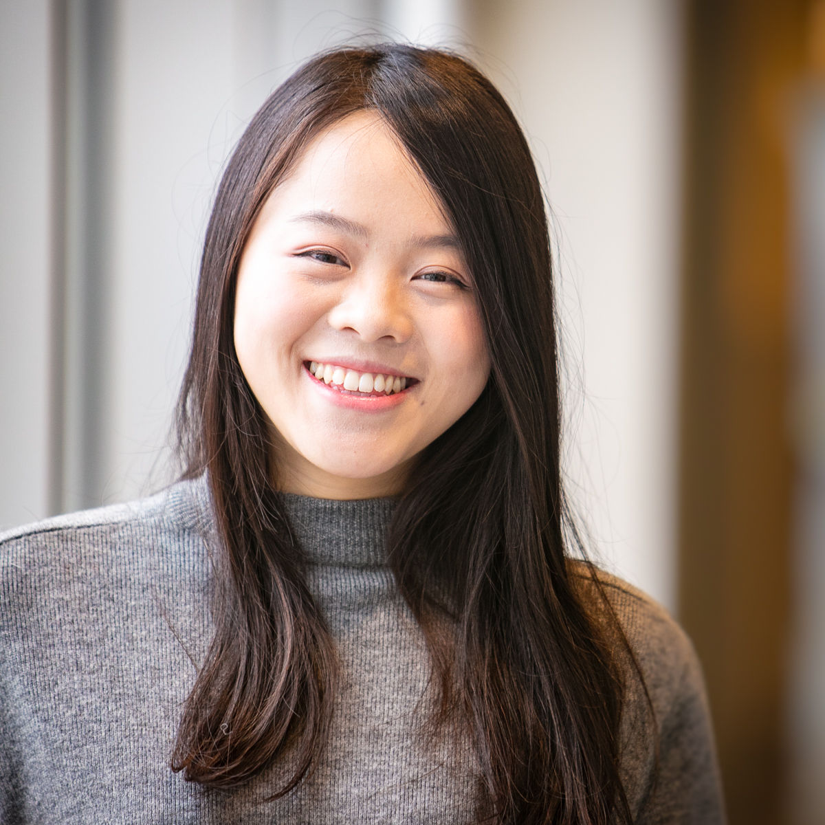 Portrait of graduate student Amy Zhou
