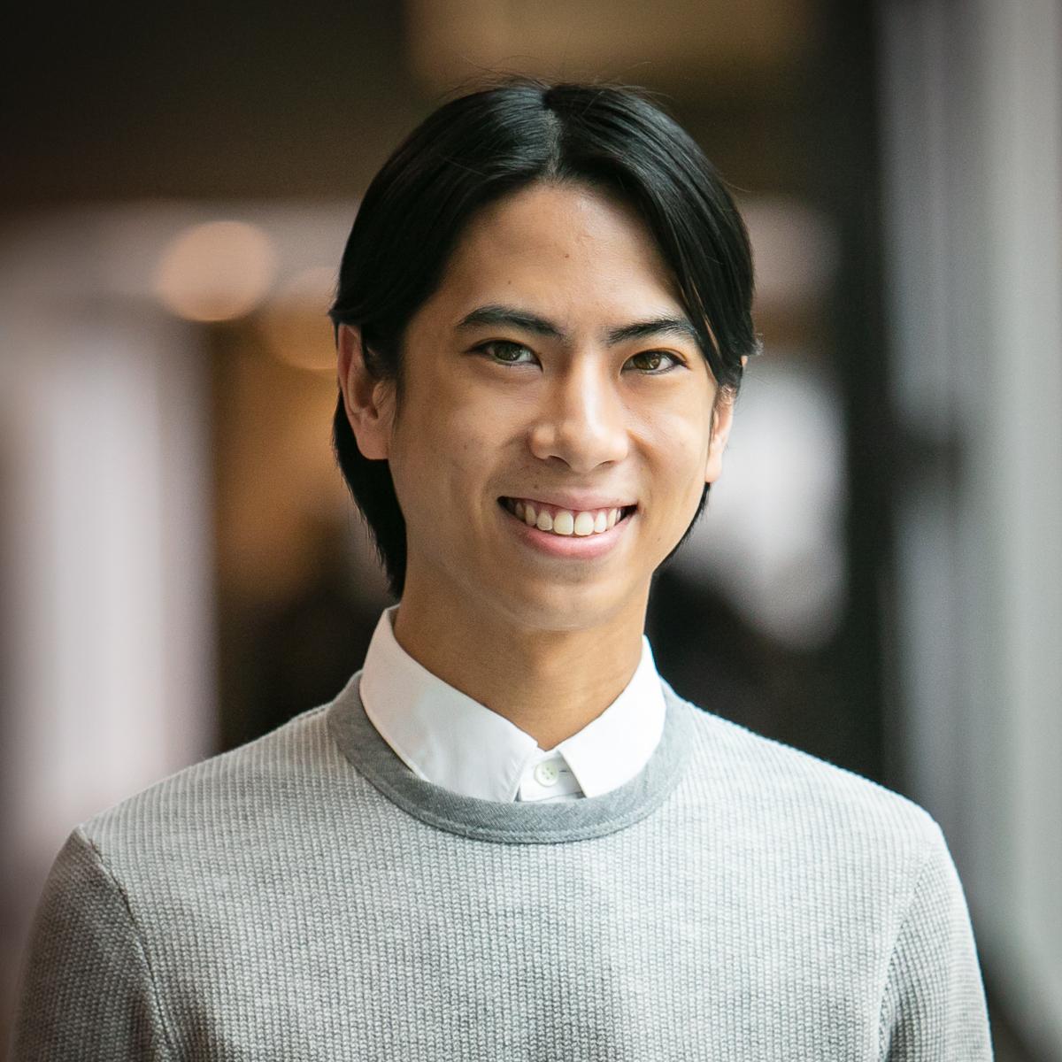 Portrait of graduate student Laphong Tudo