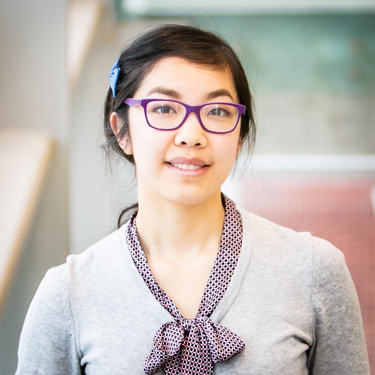 Portrait of graduate student Morla Phan