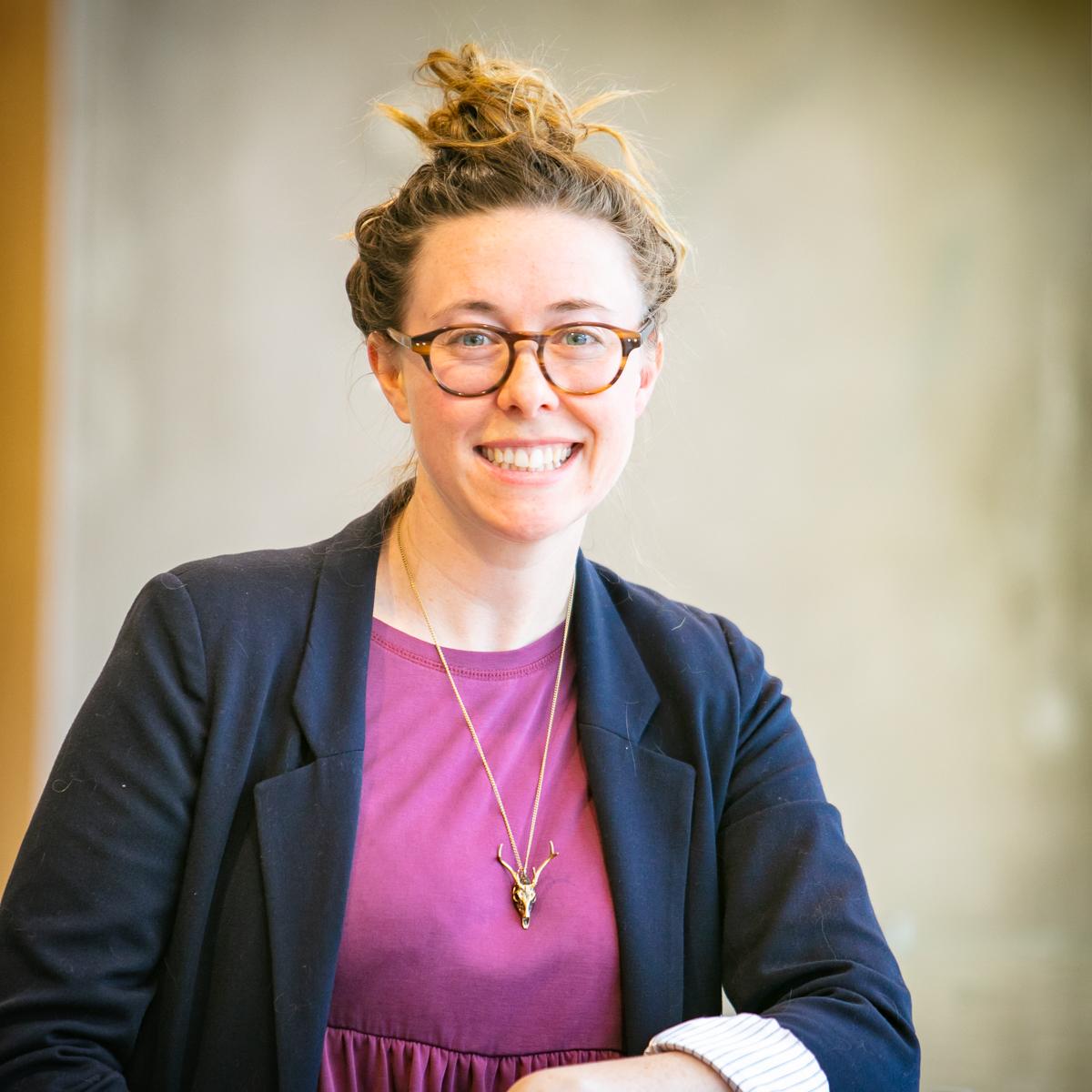 Portrait of graduate student Samantha Allen