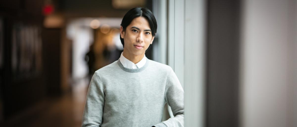 Laphong Tudo, MLA at the University of Guelph