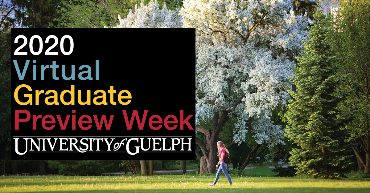 The University of Guelph Portico and Grad Studies Preview Day