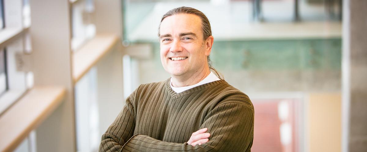 Portrait of graduate student Jeff Reichheld