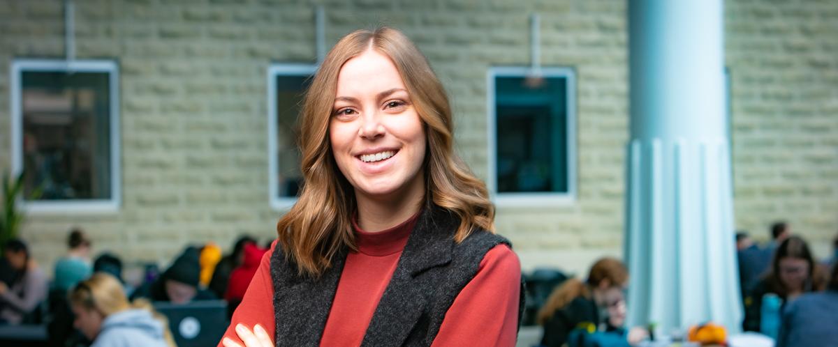 Portrait of graduate student Sarah Robinson