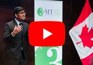 3MT Advice from Canada's 2017 3MT Champion
