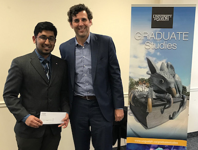 Shanthanu and Dr Benjamin Bradshaw