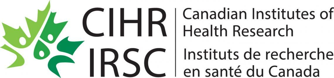 Logo of CIHR - Canadian Institutes of Health Research